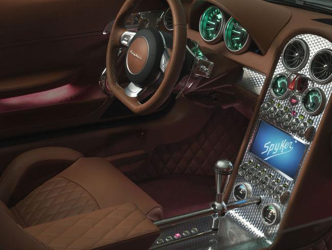 Spyker B6 Venator Spyder Concept 10 interior