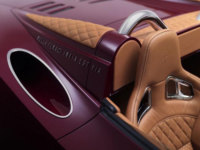 Spyker B6 Venator Spyder Concept 11 interior