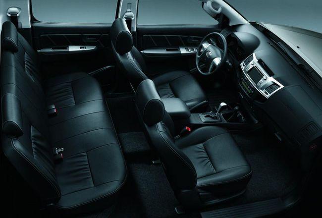 Toyota Hilux Invincible interior 2