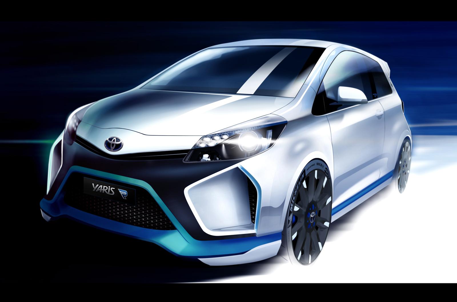 Toyota Yaris Hybrid R Concept 2013