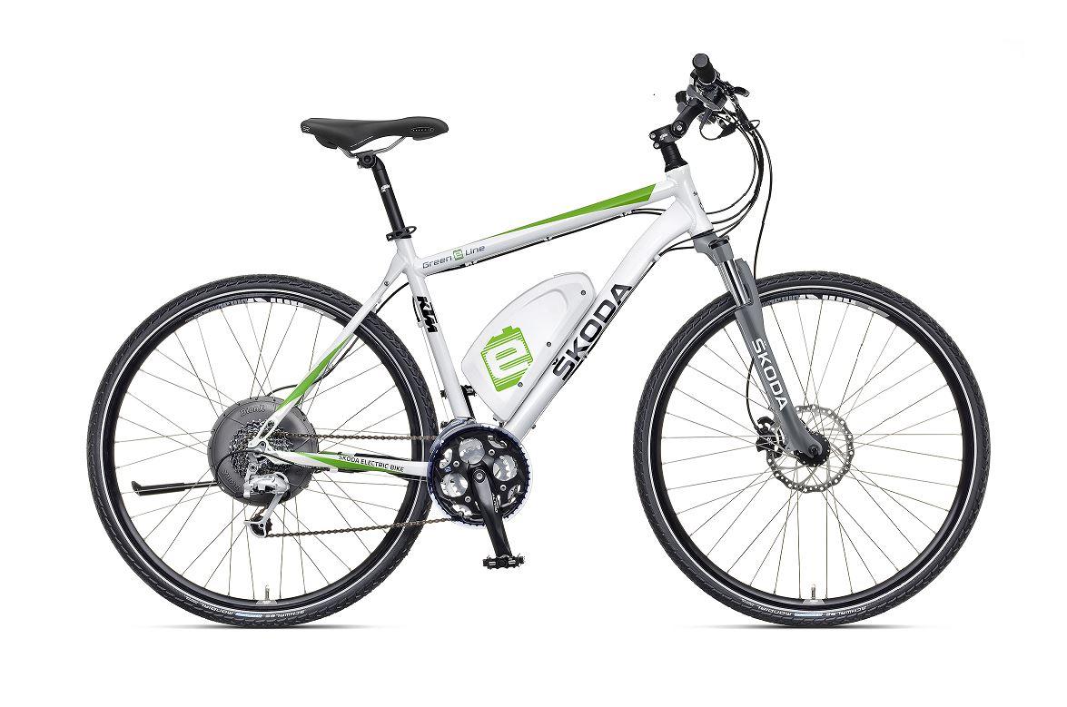 bicicleta eléctrica Skoda