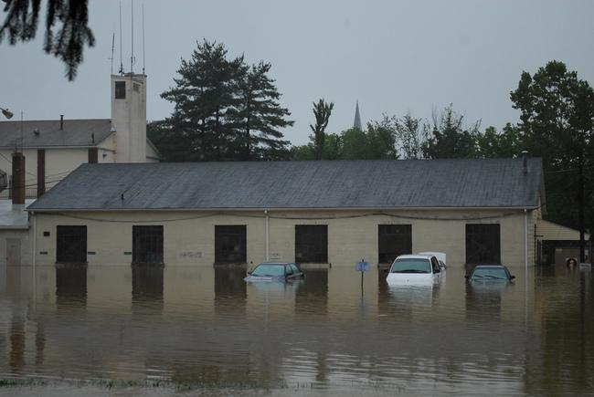coche inundado 4