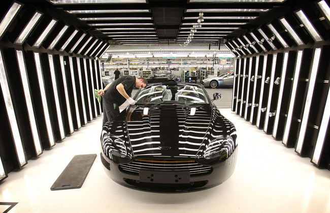 Production At The Aston Martin Factory