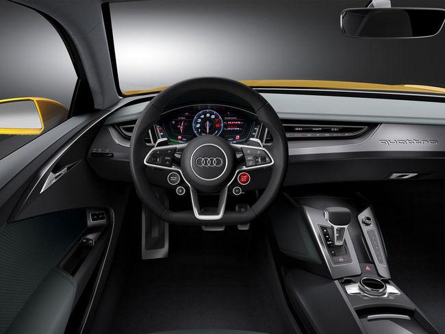 Audi Sport Quattro Concept 05 interior