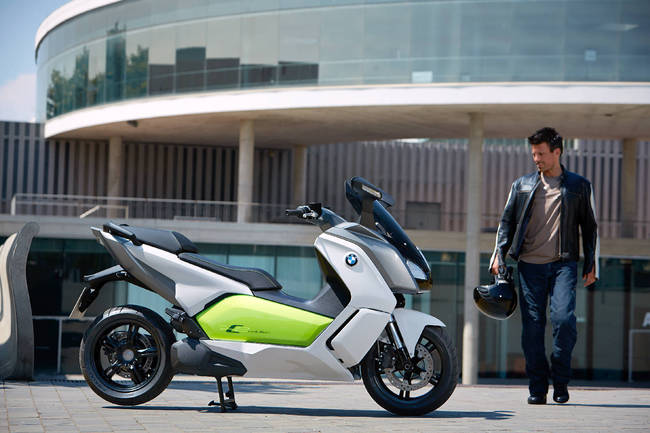 BMW C Evolution 2013 18