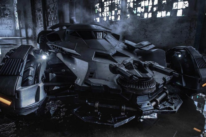 Batmobil Batman vs Superman