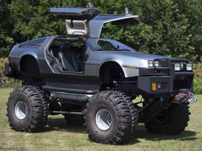 Delorean Monster Truck 5