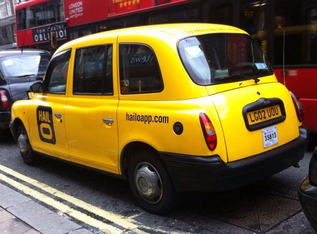 Hailo taxi