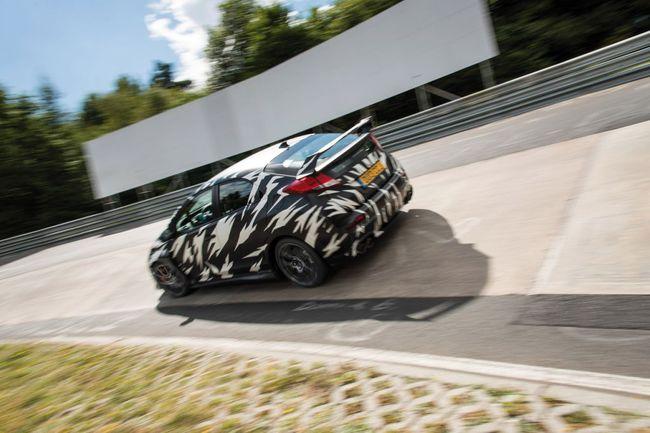 Honda Civic Type R 2013 Nurburgring 03