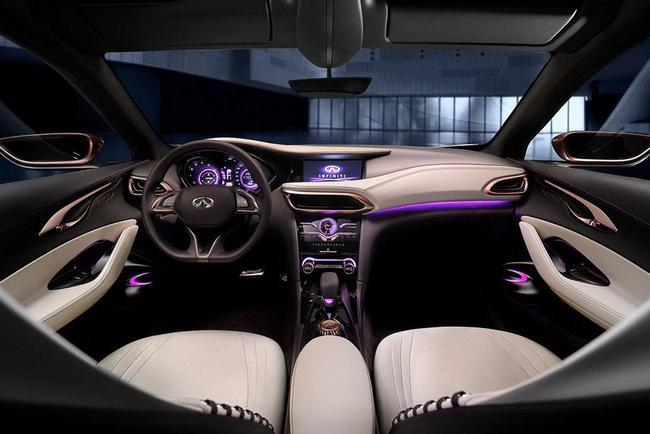 Infiniti Q30 Concept 2013 14 interior