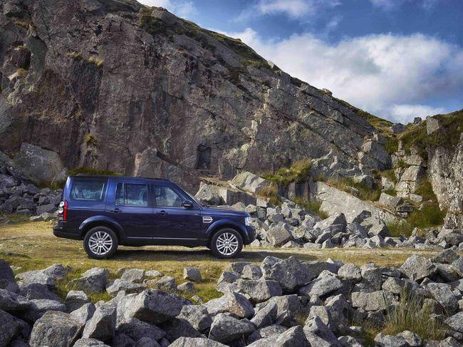 Land Rover Discovery 2014 en el monte