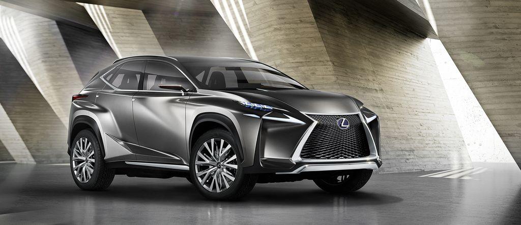 Lexus LF-NX Concept 2013 01