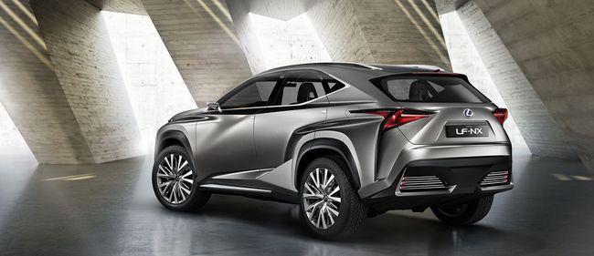 Lexus LF-NX Concept 2013 02