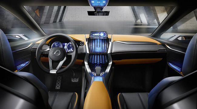 Lexus LF-NX Concept 2013 05 interior