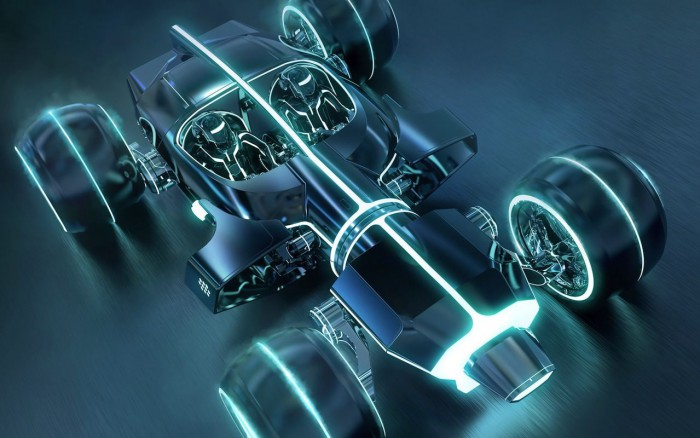 Light Car Tron Legacy