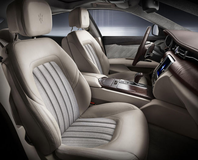 Maserati Quattroporte Ermenegildo Zegna 03 interior