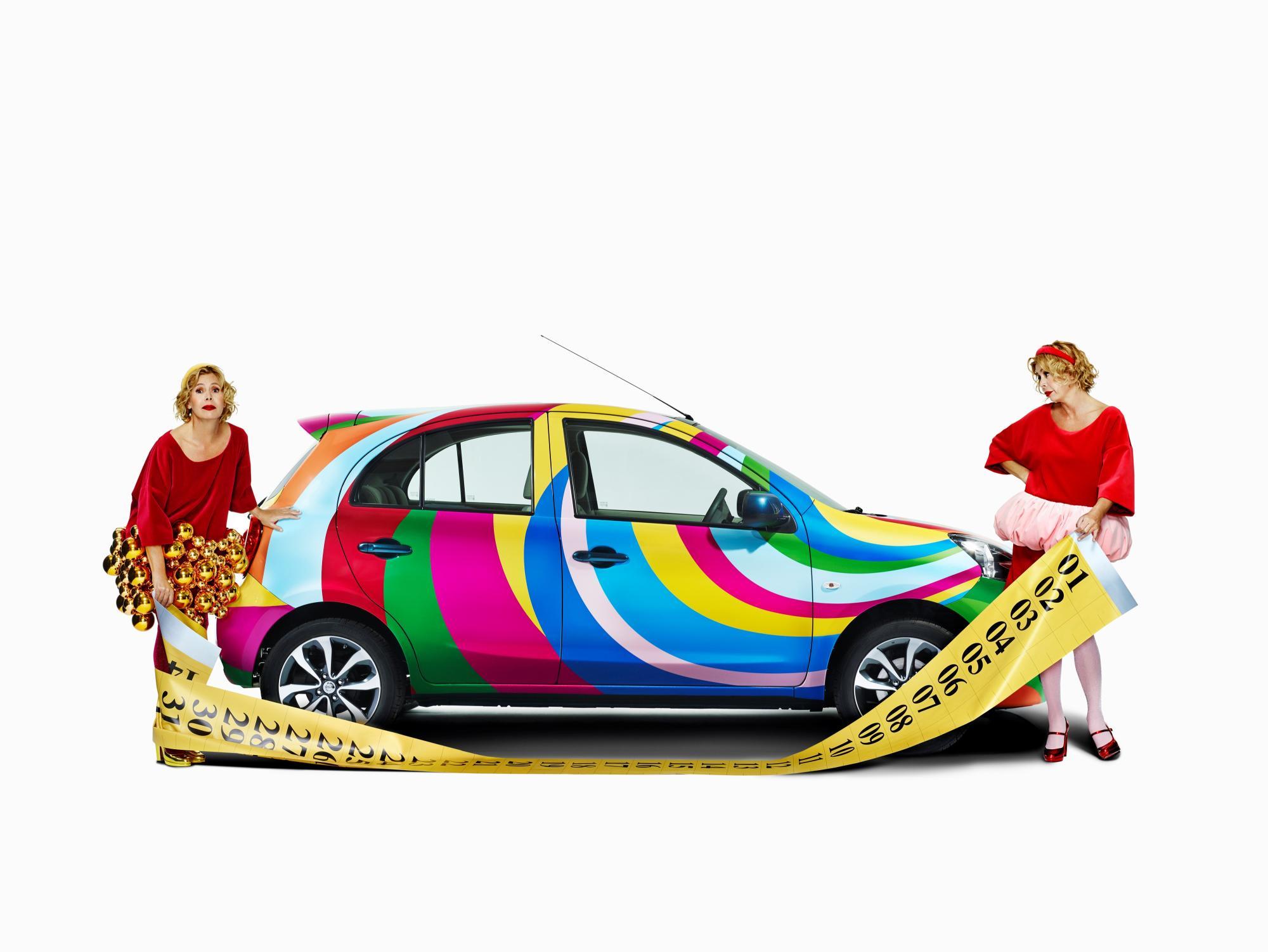 Nissan Micra Agatha Ruiz de la Prada, org¨ªa de color para el ...