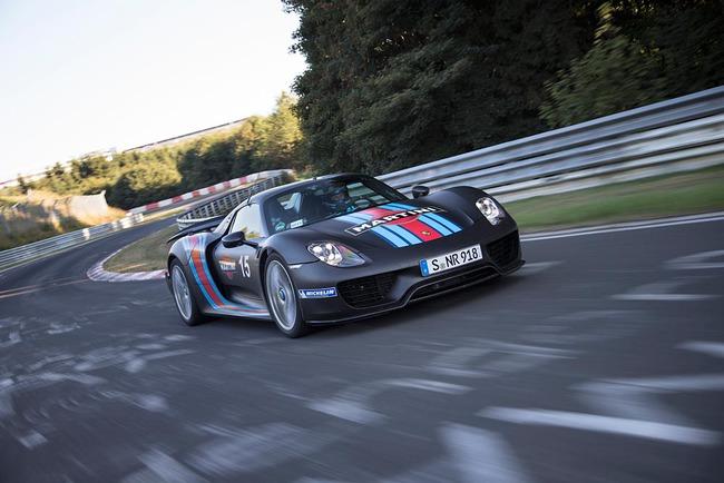 Porsche 918 Spyder récord Nürburgring 02