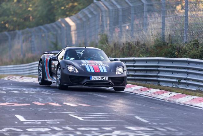 Porsche 918 Spyder récord Nürburgring 03