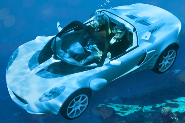 Subasta De Carros >> sQuba: el primer coche submarino