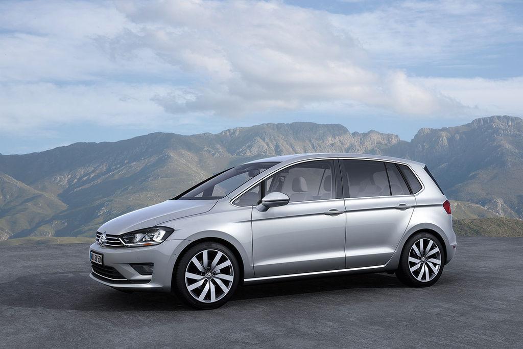 Volkswagen Golf Sportsvan Concept 2013 01