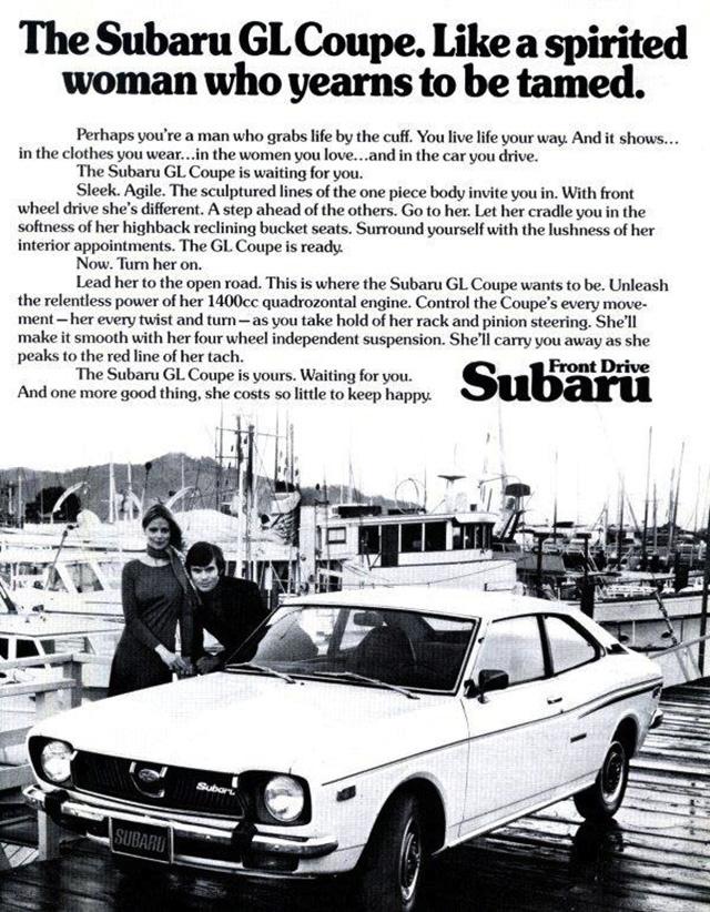 anuncio sexista Subaru