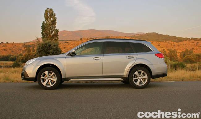 prueba Subaru Outback 2013 10