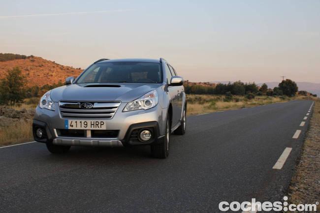 prueba Subaru Outback 2013 16
