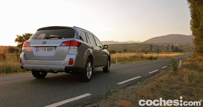prueba Subaru Outback 2013 21