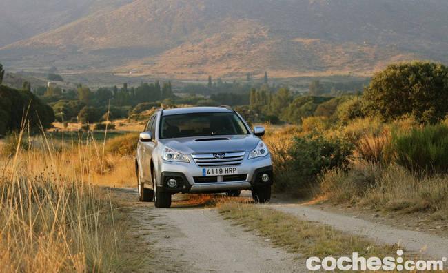 prueba Subaru Outback 2013 34