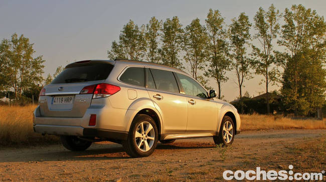 prueba Subaru Outback 2013 42