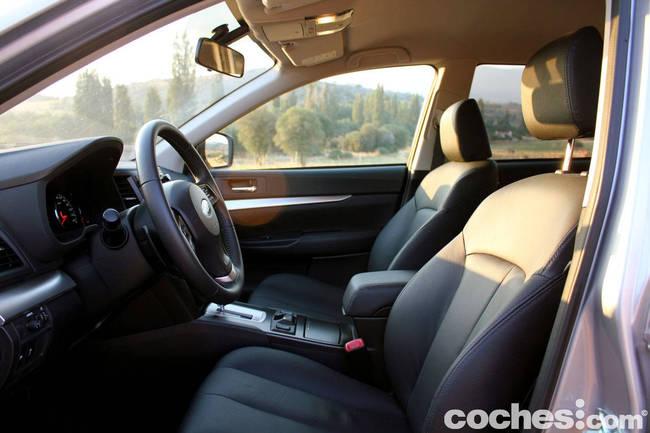 prueba Subaru Outback 2013 44