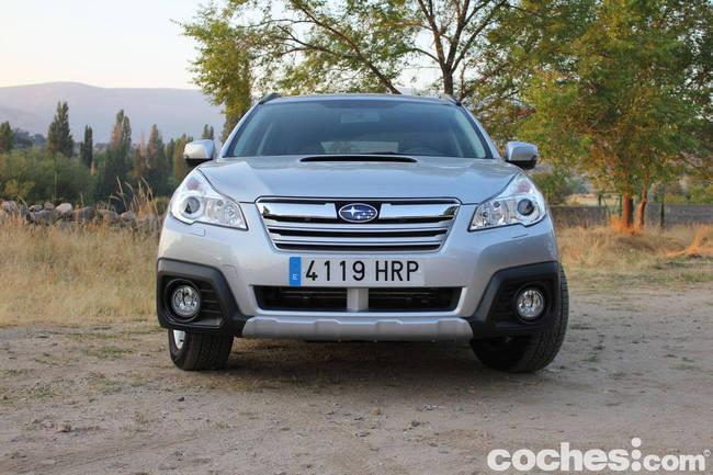 prueba Subaru Outback 2013 5