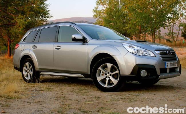 prueba Subaru Outback 2013 7