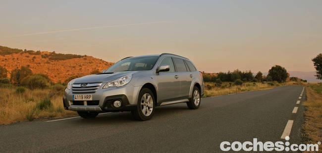 prueba Subaru Outback 2013 9