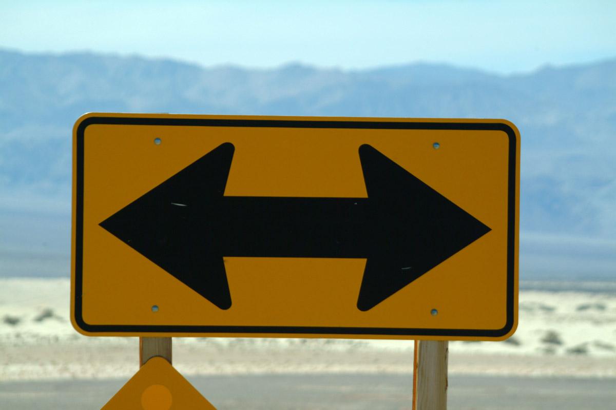 señal direcciones