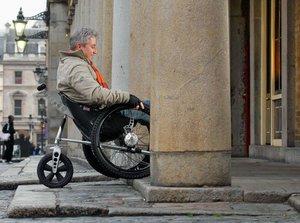 silla de ruedas monocasco