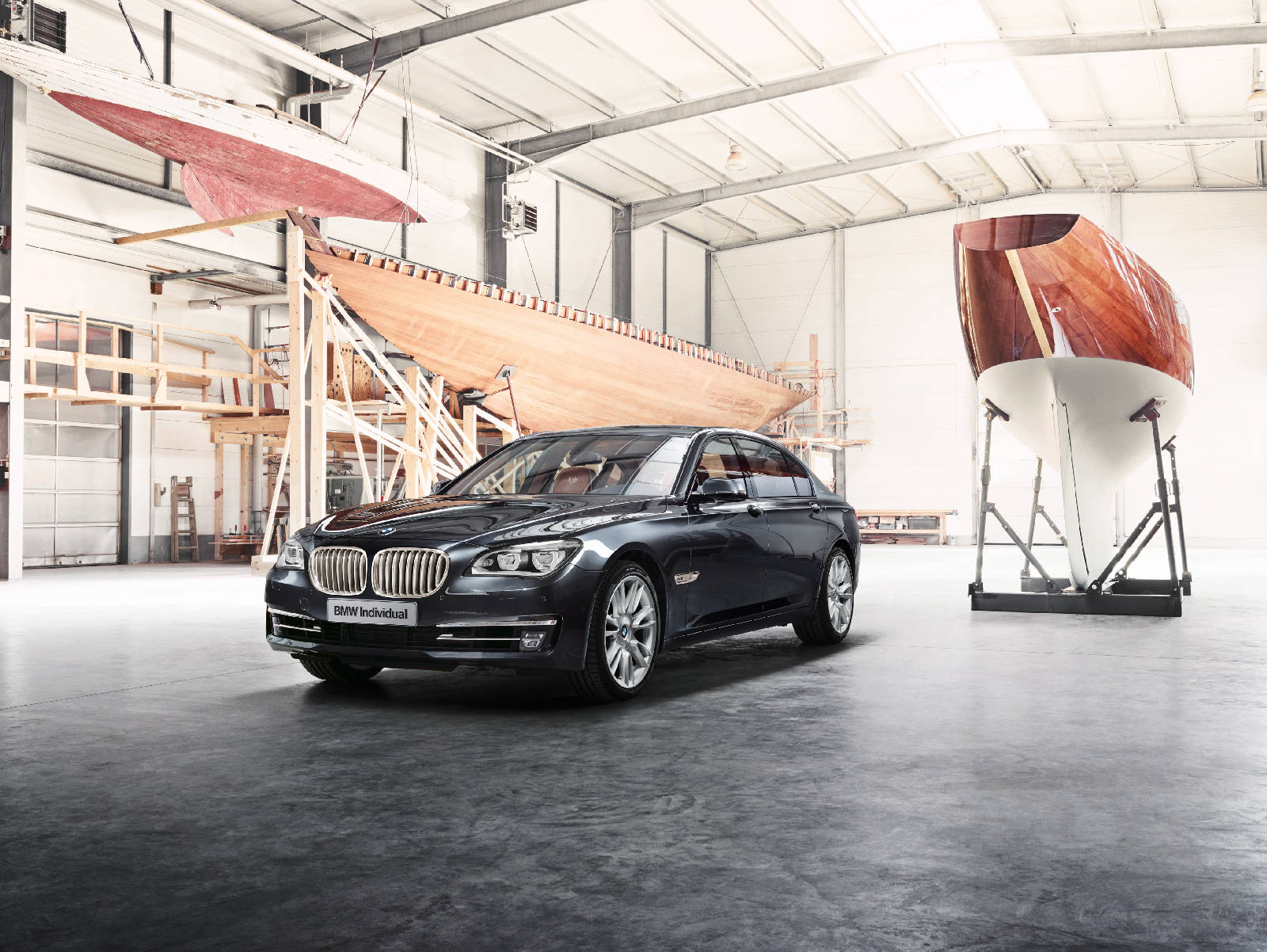 BMW Individual 760Li Sterling inspired by ROBBE and BERKING 7