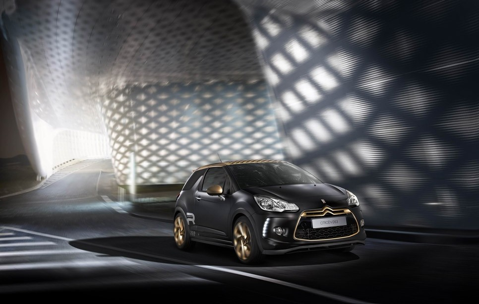 Citroen DS3 Racing Gold Mat 2013 02