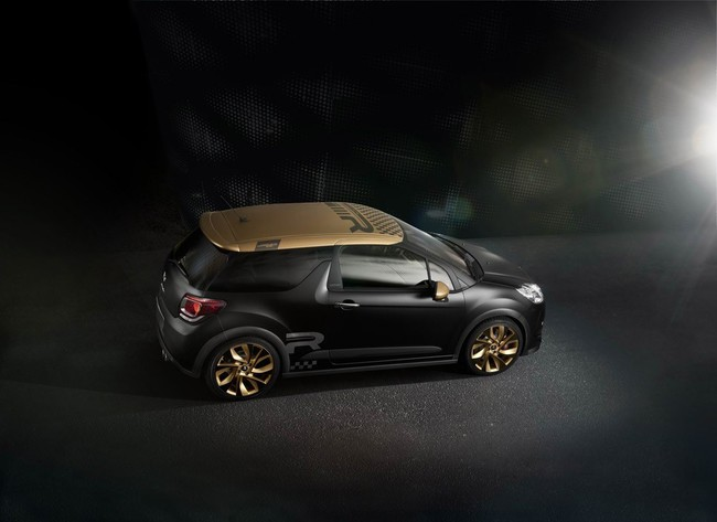 Citroen DS3 Racing Gold Mat 2013 03