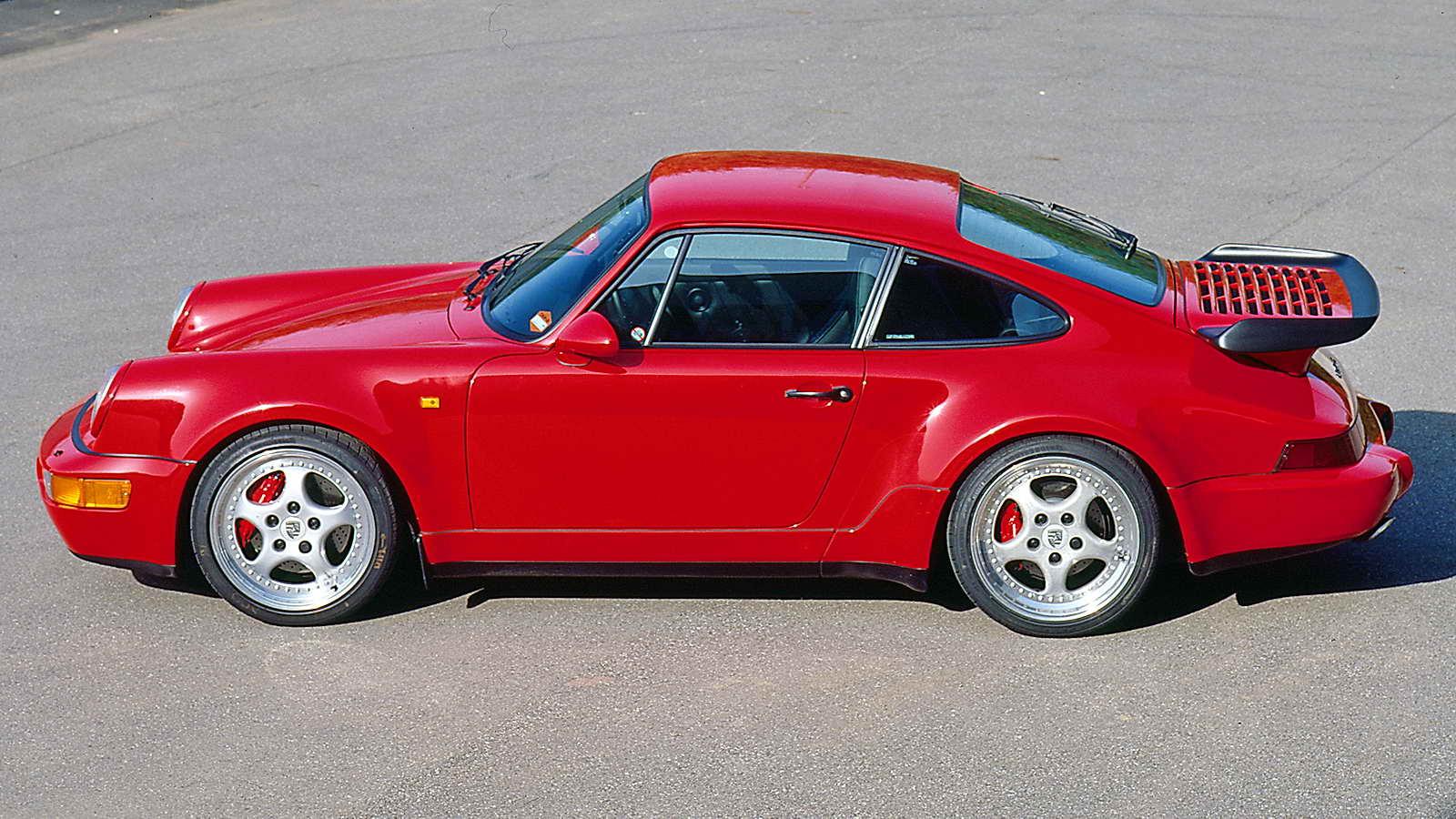 1988 Porsche 911 >> Historia del Porsche 911 - Tercera generación (1988): el Porsche 964