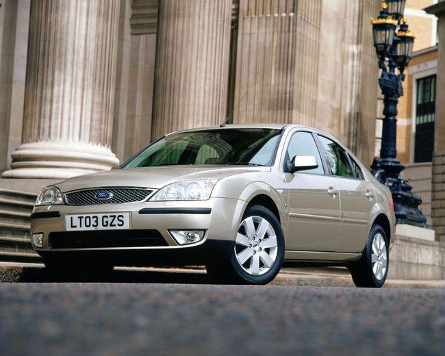 Ford Mondeo: Segunda generación