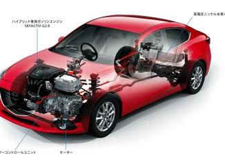 Mazda Axela Hybrid sistema