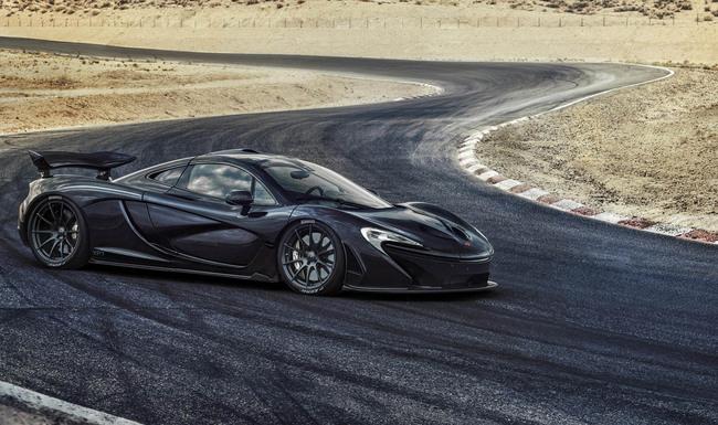 McLaren P1 Test calor extremo 02