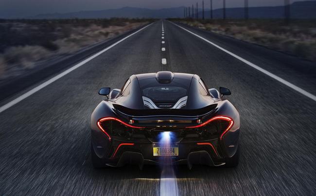 McLaren P1 Test calor extremo 07