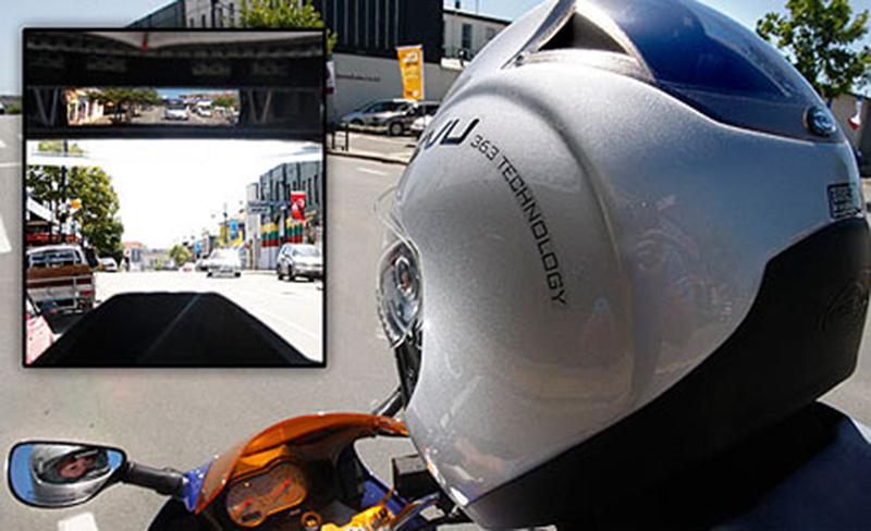 Reevu quiere cascos de moto con retrovisor y hud - Cascos de cocina baratos ...