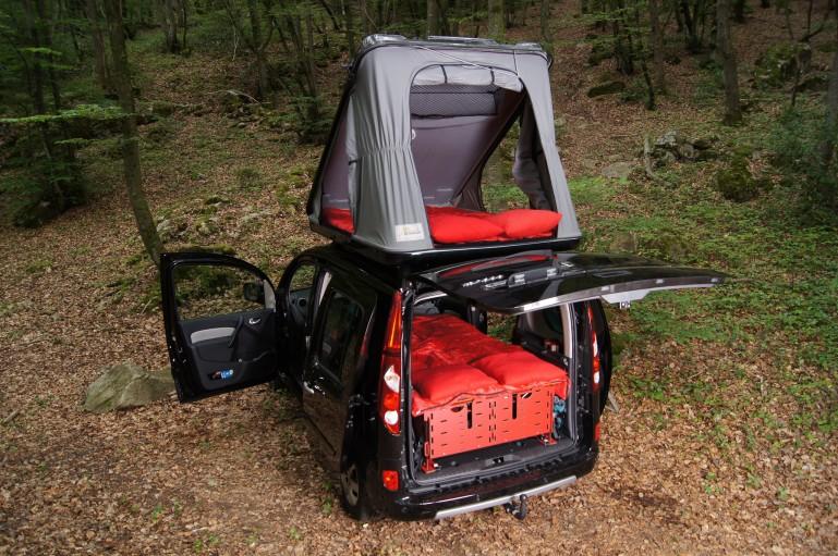Swiss Roombox Easytech Convertir El Coche En Caravana