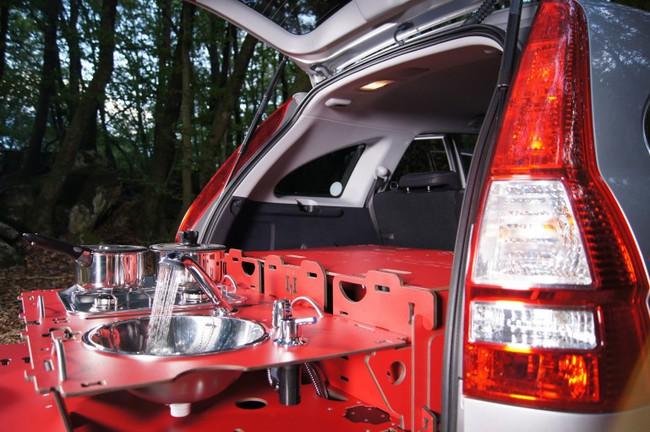 Swiss Room Box car camper 8