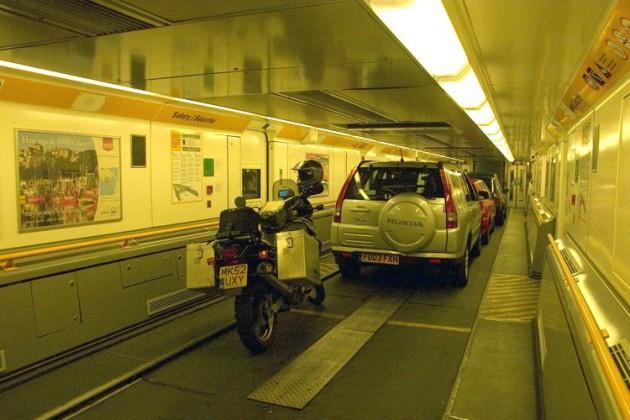 Túnel de Eurotúnel, Francia Inglaterra
