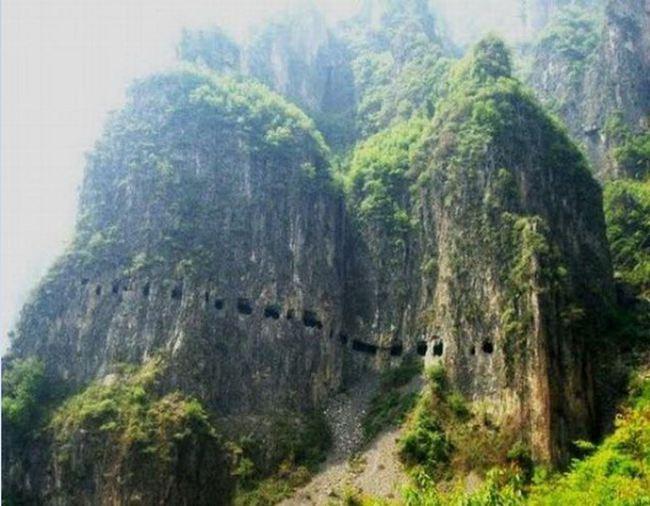 Túnel de Guoliang, China